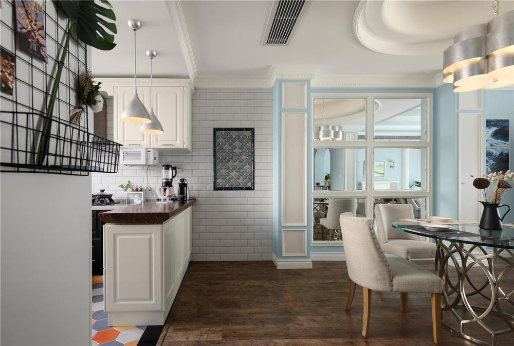 300美式别墅别墅,设计师在原始风格上保留客结构长安东莞街图片