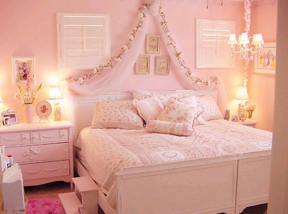 粉色儿童房装修效果图主卧