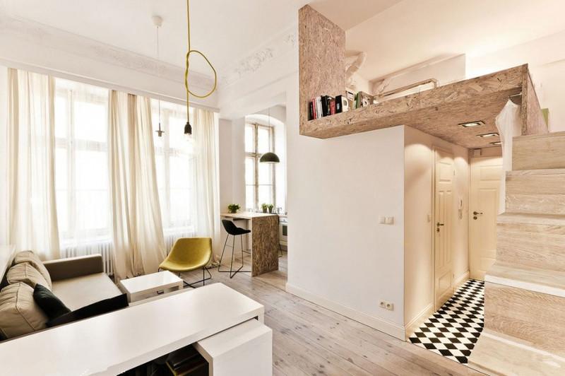 小户型一直单身青年或者新婚小夫妻向往的理想住所,在造型上既要满足功能性,又可以时尚美观,还要温馨浪漫。其实对于小户型来说,卧室原本的空间就比较有限,所以在设计方面最好是简单一点;家具方面要选造型精巧的家具,家具越大,虽然收纳的越多(不一定越巧越随手),但相对给人剩余的活动空间就越少,而且越重的家具,体积越大,灵敏摆置的可能性就越小,越杂的家具,能表现它自身的独特美更加是不可能。小户型卧室装修家具不适合整套购买,最好充分考虑大小家具的包容性、性能的统一整合,混搭出独特效果,所以小户型应先选家具再装修。
