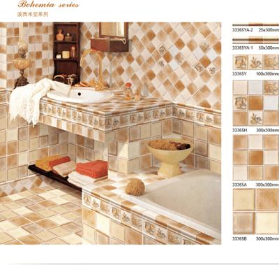 稻草人瓷砖 波西米亚系列 33365 限量促销款