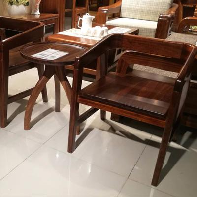 居美印尚 中式风格 休闲椅三件套