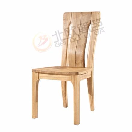 北欧篱笆全实木餐椅电脑椅椅子靠背坐椅现代简约家具