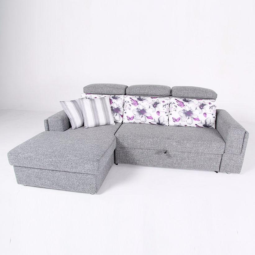 斯帕尔现代简约北欧风布艺功能沙发 挪威