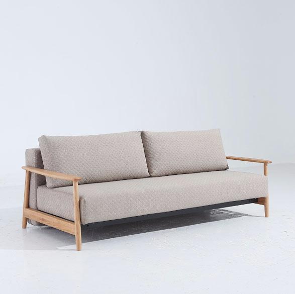 斯帕尔现代简约北欧风布艺功能沙发 歌德图片