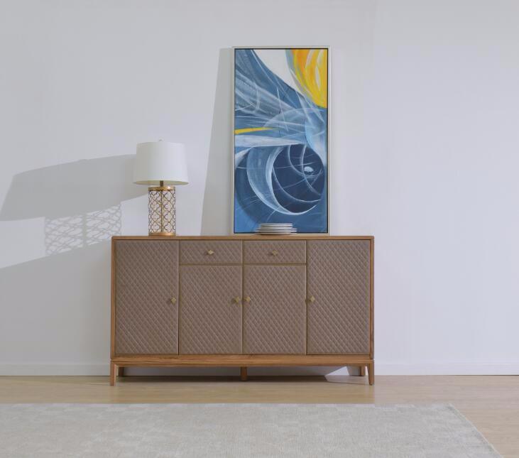 奥芬达家具 小柚木全实木系列  电视柜