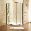BR系列 可储物式扇形淋浴房