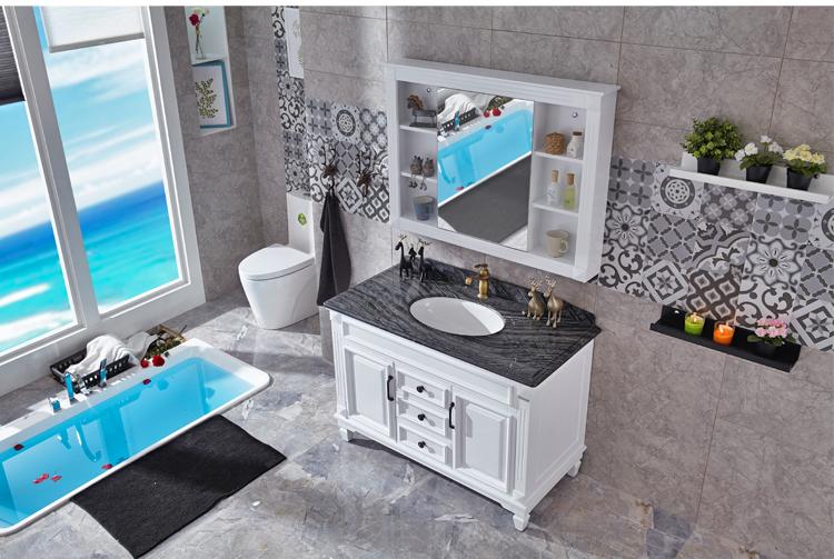 7月家博会拿努定制浴室柜CN8033