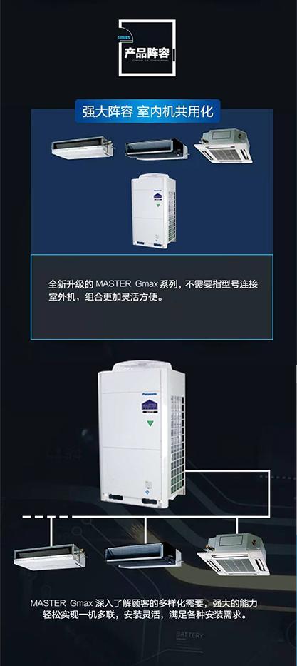 松下中央空调master gmax系列(主机价)