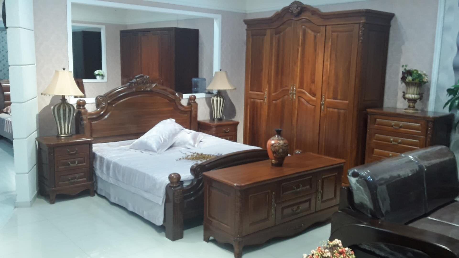 月名家具卧室五件套