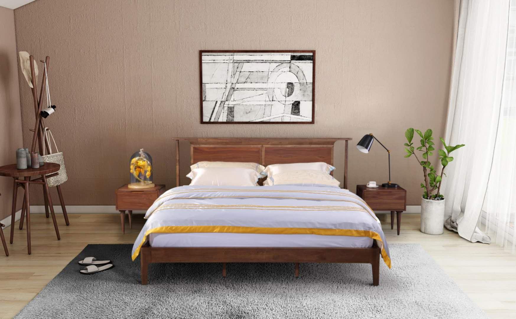 马来西亚原装进口床头柜b03-1