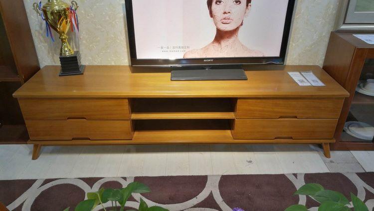 居美印尚 现代风格实木电视柜