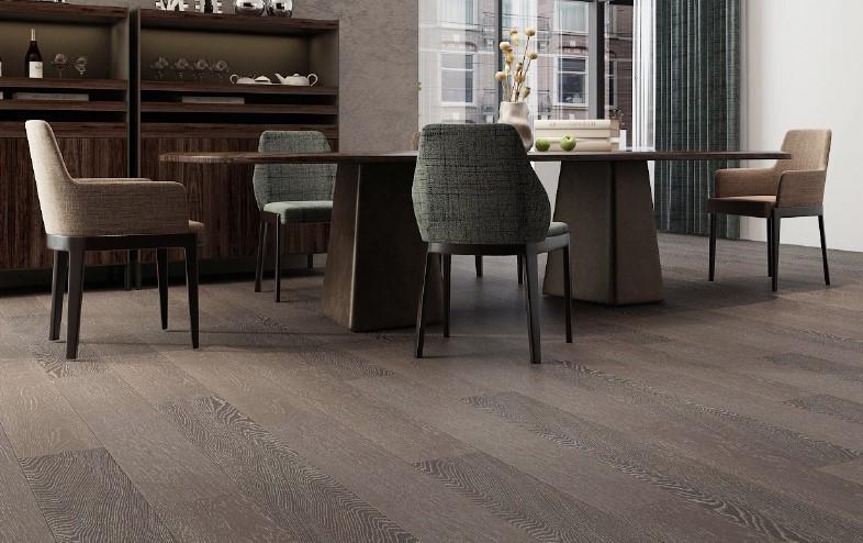 永順地板 多層實木復合地暖地板sk3618