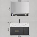 【522家装狂欢节】大理石岩板3696-70现代简约浴室柜