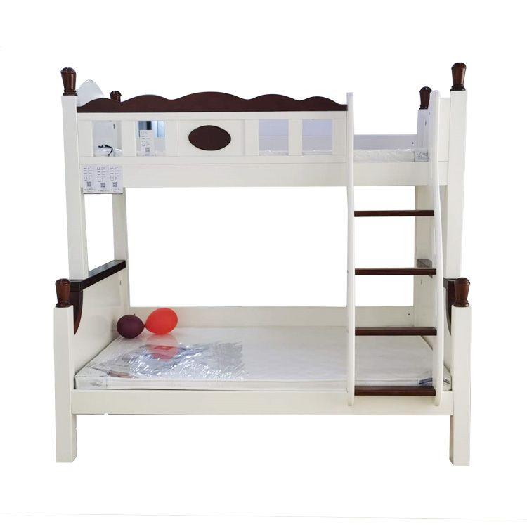【五一家装节】齐家优选地中海风格全实木高低儿童床