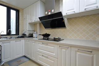 100平简欧风格家厨房设计图