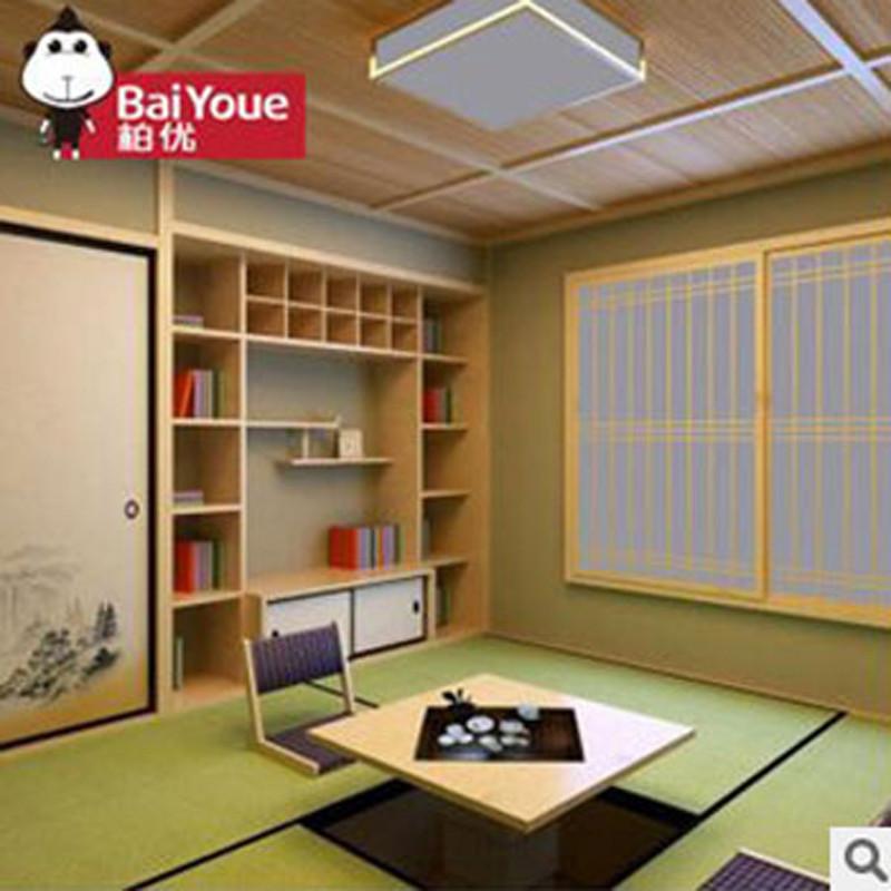 和室储物柜实木定做阳台卧室设计