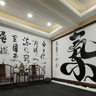 中式风格会所装修效果图