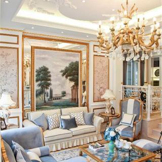 法式风格别墅装修实景图