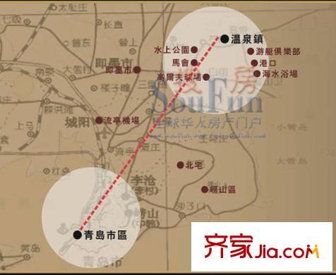 青岛海信温泉王朝小区装修案例