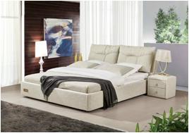 1601布艺软床