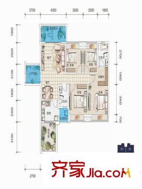 绵阳英郦庄园99曼城户型图,装修效果图,实景图,交通