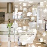达芬奇密码 写意生活◆厨房阳台移门、衣柜(透明冰雕