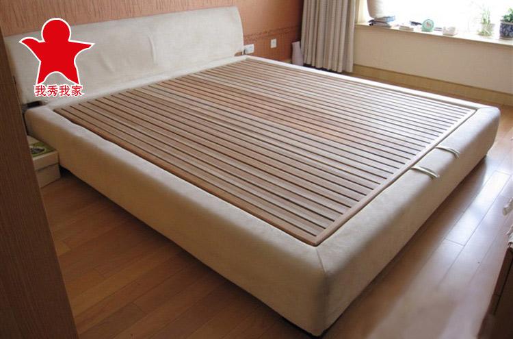 佐必林杉木1米35木板床垫,双人床垫,硬板床垫,硬床垫