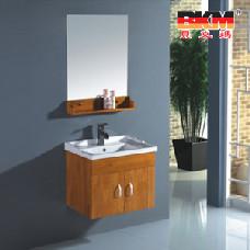 贝克玛卫浴 BKM-2102 全橡胶木60公分实木浴室柜