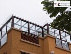 铭艺阳台窗及阳光房--凤铝80*44*2.0mm豪华型阳光房