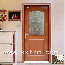 星星套装门欧式两框半玻门室内门木门