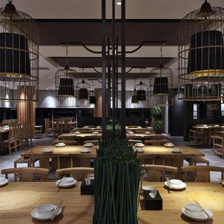 中餐厅装修效果图 静谧优雅