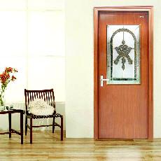 星星套装门半玻门室内门木门