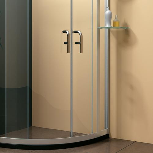 淋浴房圆弧型双开门
