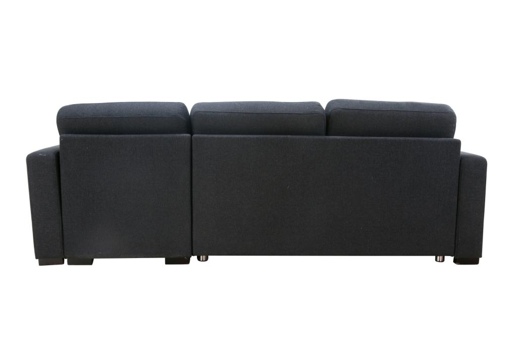 沙发侧面图片-卡玫娜 北欧风格 外贸原单多功能组合沙发 布艺沙发