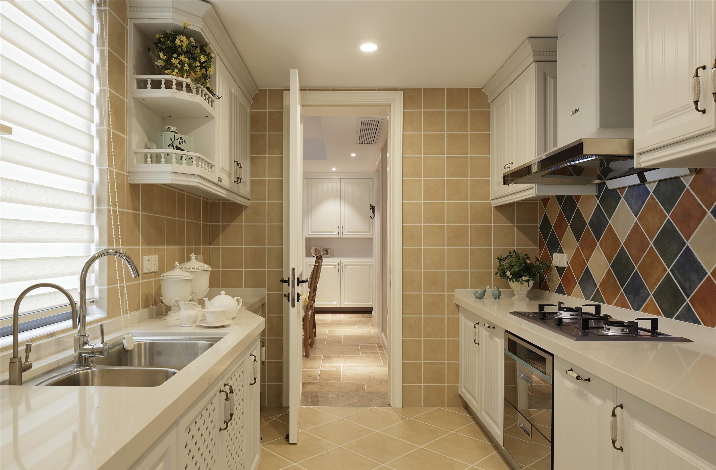 美式风格5平方厨房装修图片