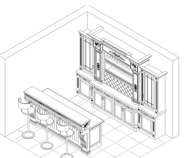 衣柜平面图画法手绘