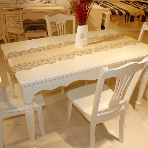 居美印尚 餐厅 韩式家具 白色 餐桌 A3型