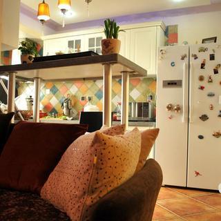 80平小复式公寓装修设计图
