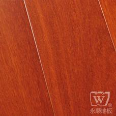 永顺地板 实木地板 香二翅豆610*90-98*18
