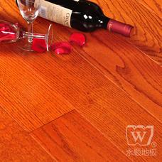 永顺地板 实木仿古地板 红橡仿古910*90-98*18
