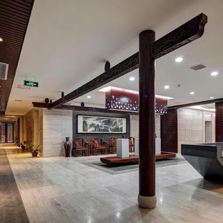 办公展厅装修设计 中式与现代