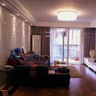 80平现代简约二居装修实景图