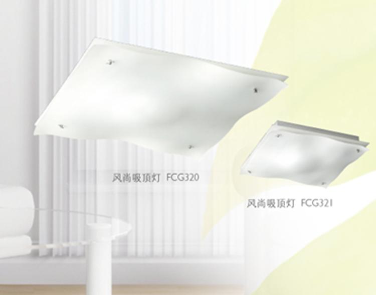 飞利浦灯具客厅 卧室吸顶灯风尚系列吸顶灯 fcg321高清图片
