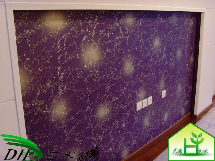 艺术背景墙画 三辉硅藻泥