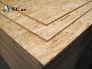 进口科洛森osb/3(潮湿环境)欧松板 9mm 定向结构刨花板图片
