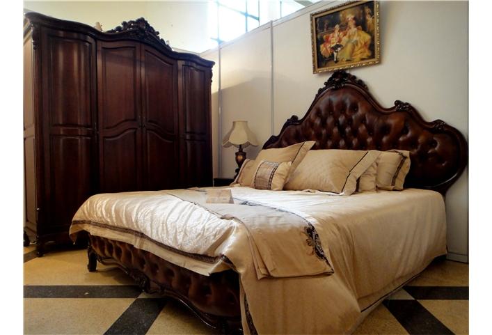 奥芬达欧式实木家具五件套,奥芬达家具旗舰店卧室天津加工厂图片