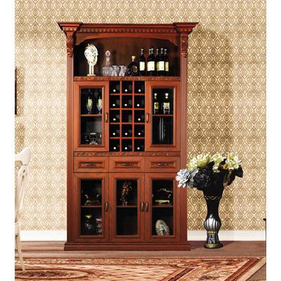 好莱客 定制整体酒柜 精品欧式--古典风格 凯撒红酒柜