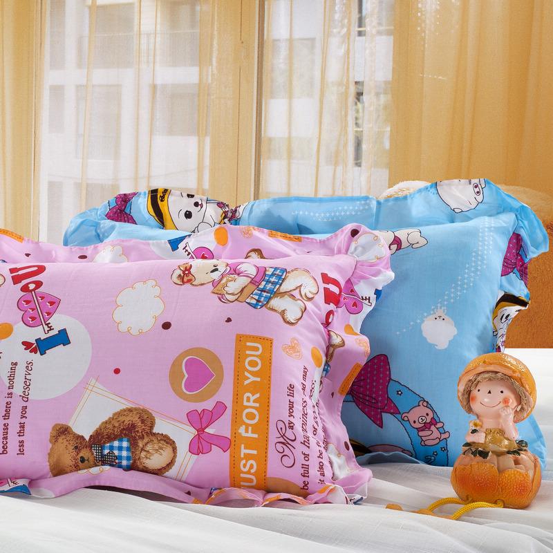 可爱卡通图案枕头