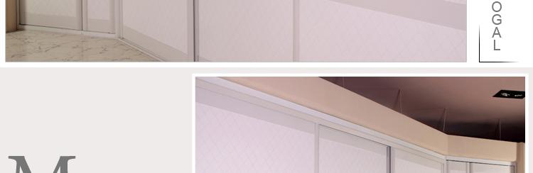索菲亚衣柜移门开门c8边框米白皮革门定制组合e0环保