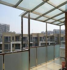 上海万增门窗供应 家用不锈钢阳光房 钢化玻璃房
